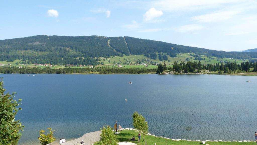 Lac des Rousses baignade