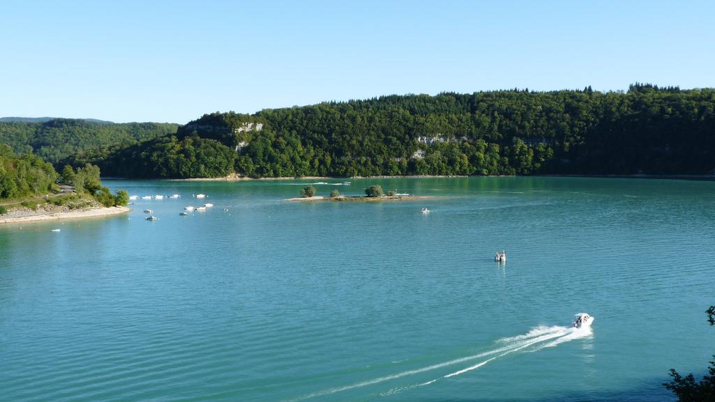 Lac de Vouglans baignade