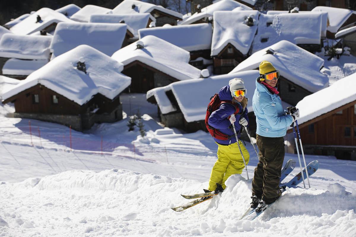 Stations ski aux pieds