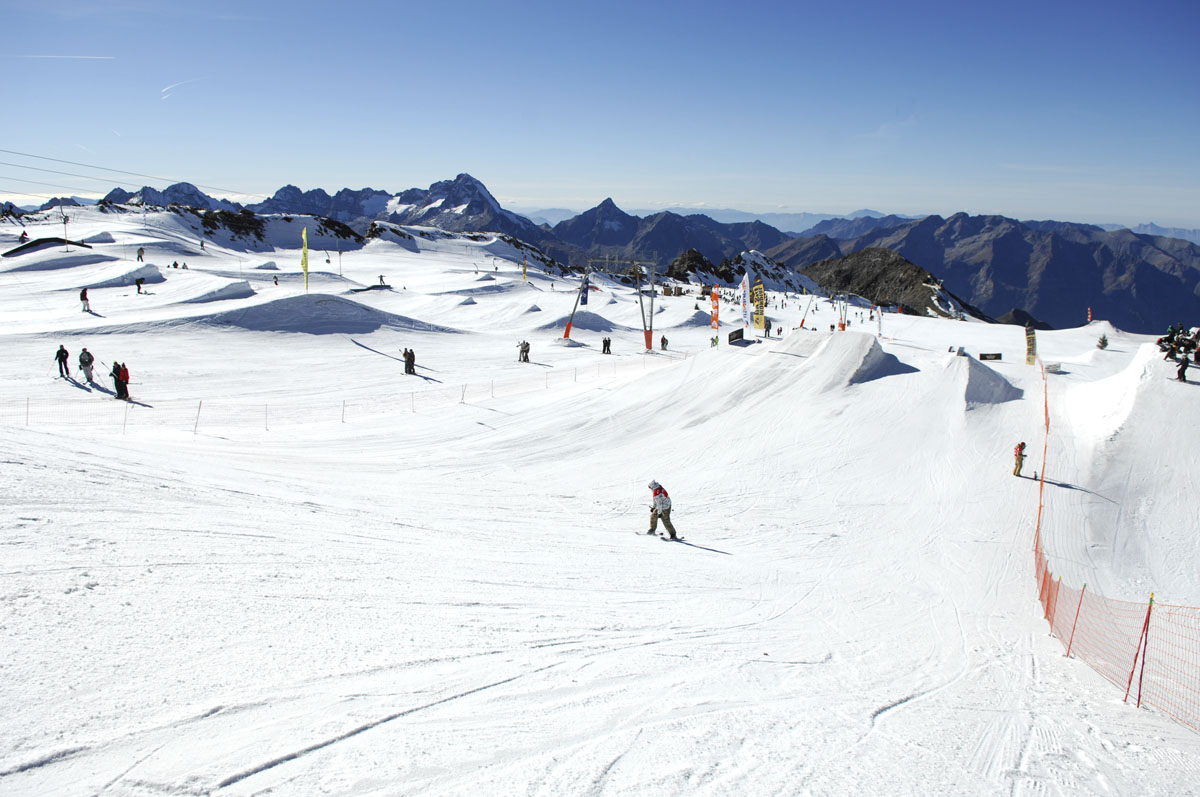 Ski d'été aux 2 Alpes