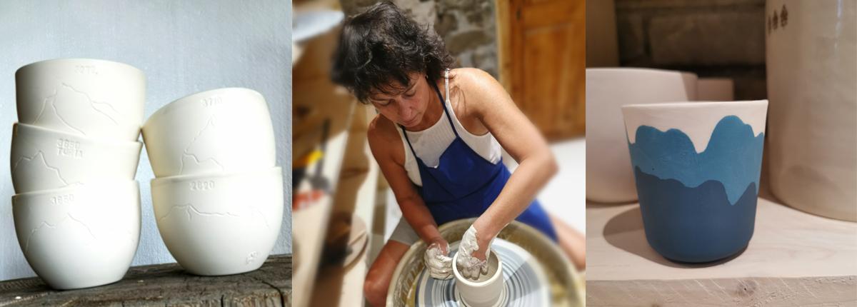 Anne Marmottan céramique montagne Sainte Foy Tarentaise