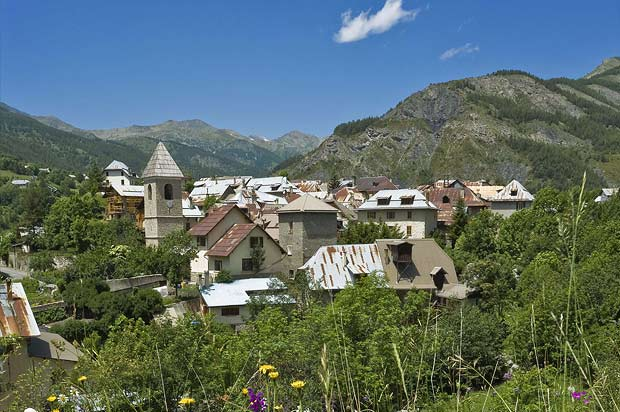 Station village : Val d'Allos le Seignus