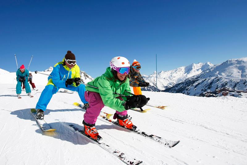 Séjour en famille dans un appartement au ski