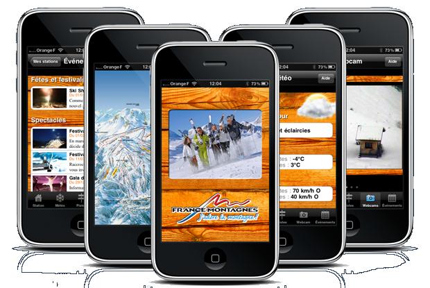 Appli Ski Montagne