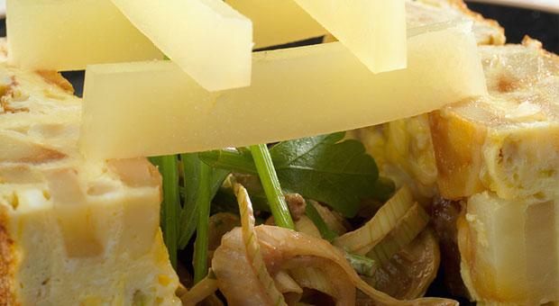 Recette de Tortilla à l'Ossau-Iraty