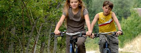 le vélo en famille en montagne