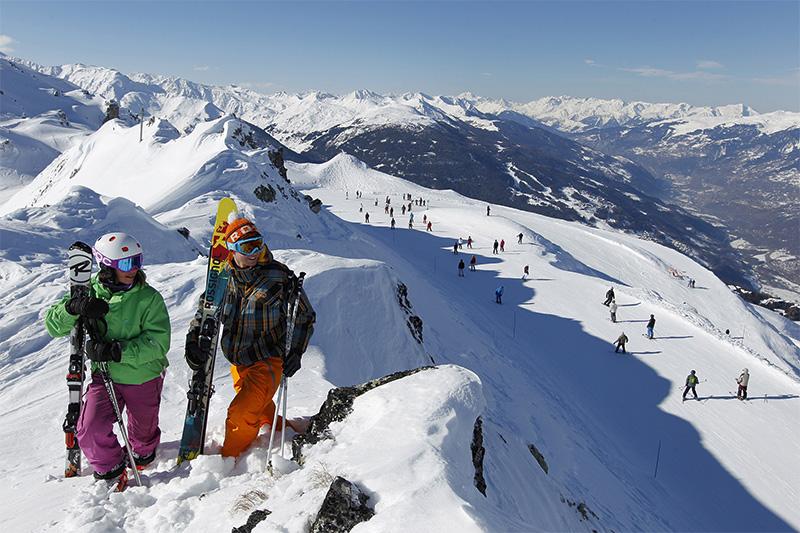 Février est une période privilégiée pour la pratique du Grand Ski