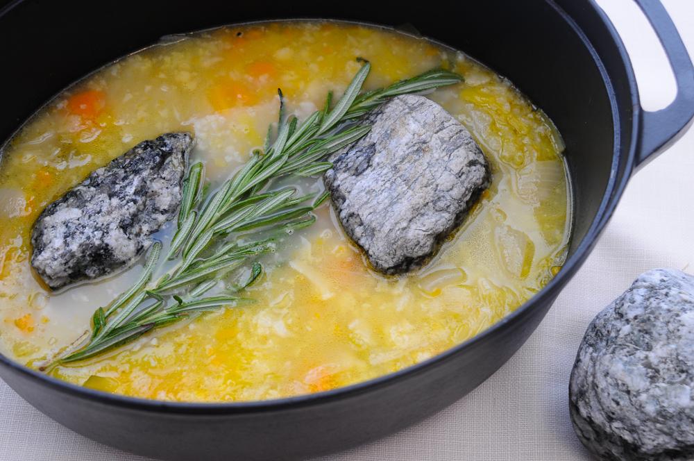 soupe plat