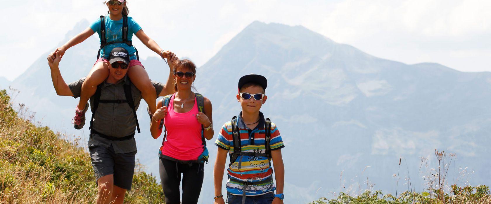 Bergdorpen voor gezinnen