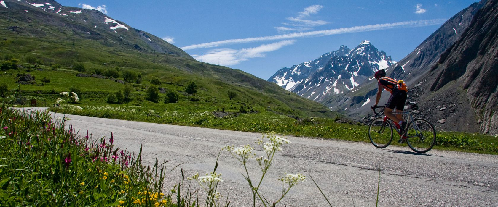 Cyclo en montagne