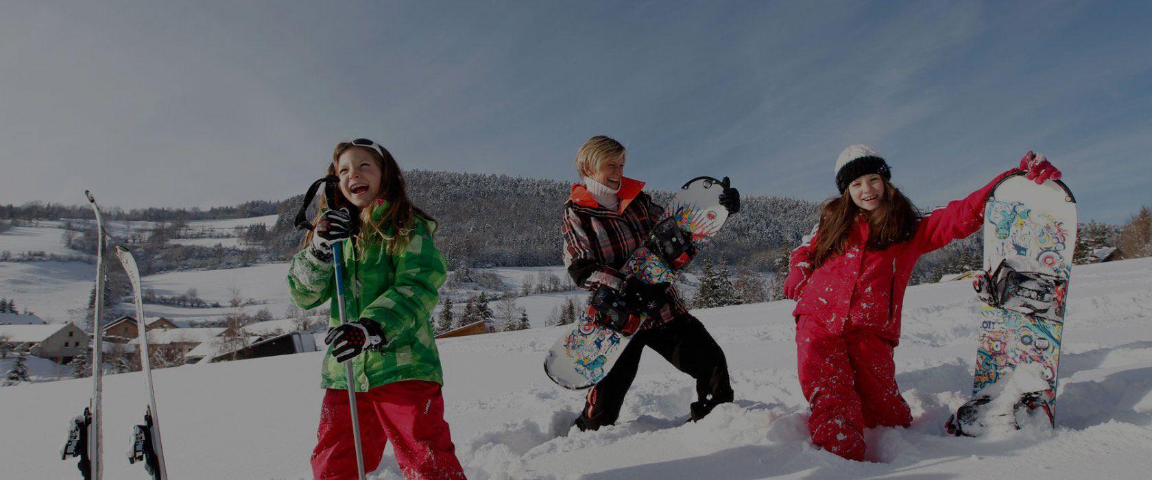 Bien choisir sa station de ski familiale