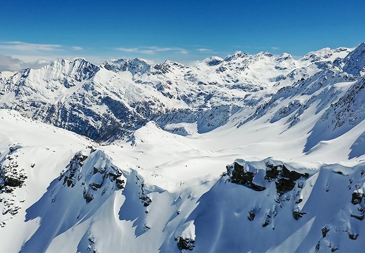 image montagne neige