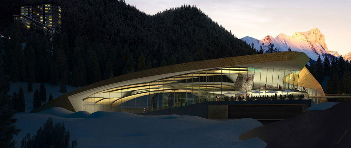 Courchevel ouvre le plus grand centre aqualudique de montagne