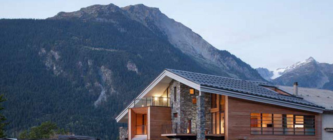 Le Mineral Lodge, ou comment concilier l'architecture de montagne au design contemporain