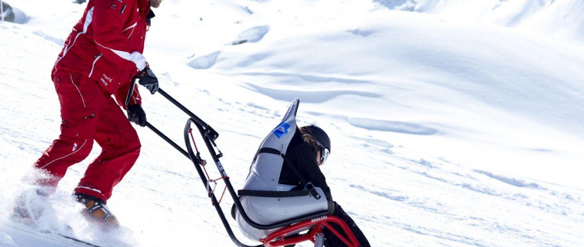 Ski et handicap : pas de contre-indication !