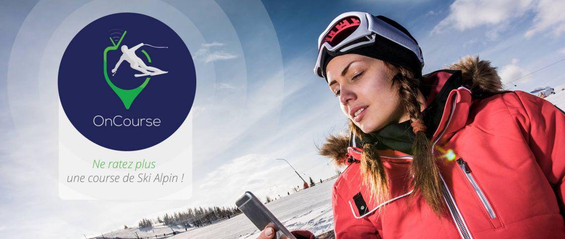 Une appli pour ne plus rater les courses de ski