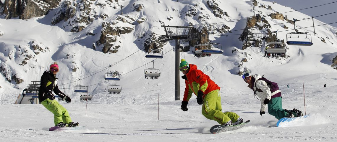 A la découverte du snowboard