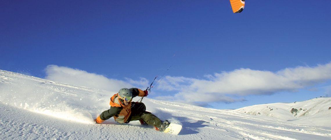 10 conseils pour s'initier aux joies du snowkite