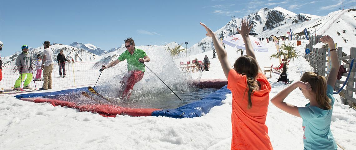L'agenda d'avril du Printemps du Ski