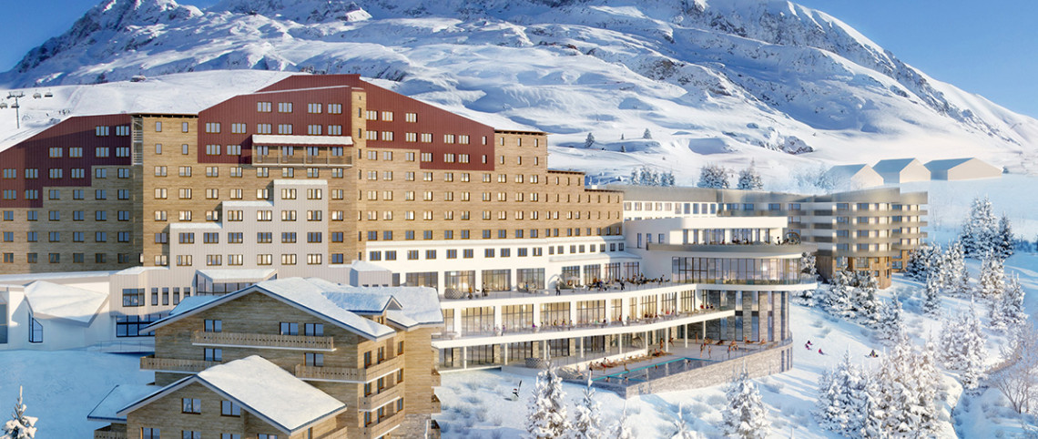 Renovated 4-Trident Club Med opening this winter in Alpe d'Huez