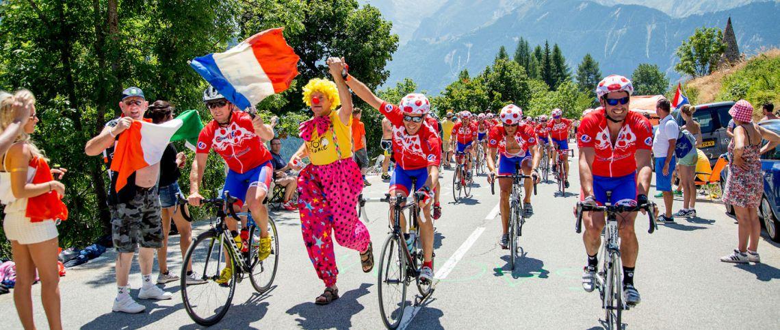 Tour de France : un peloton France Montagnes à l'arrivée de Saint-Gervais Mont-Blanc