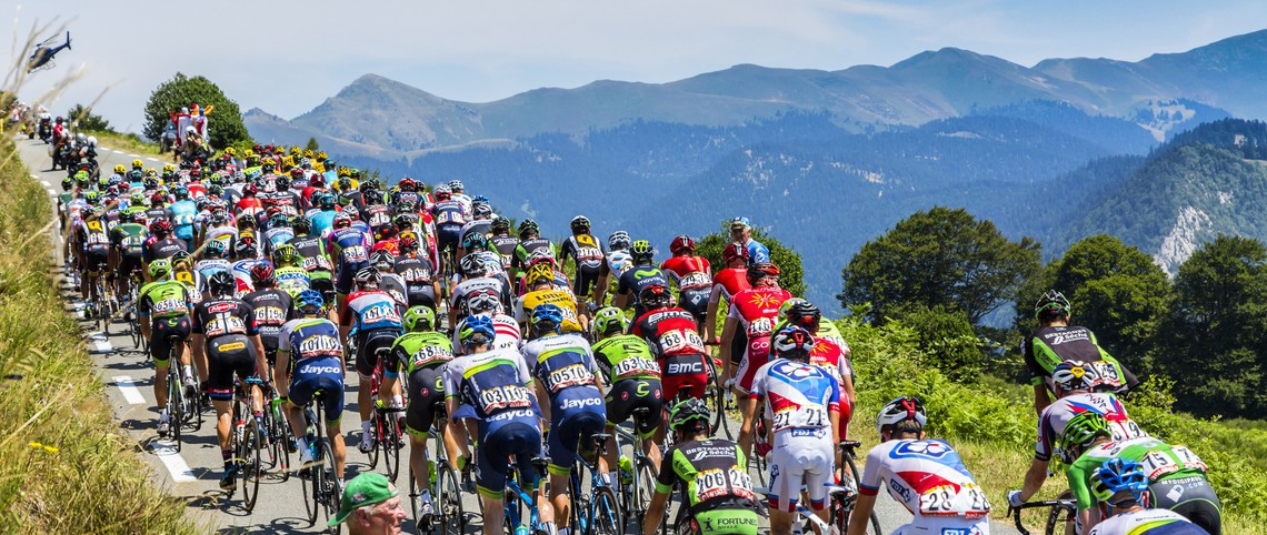 De Tour de France in de bergen!