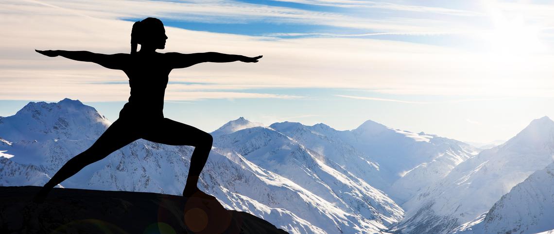 Yoga en montagne : au sommet du bien-être !