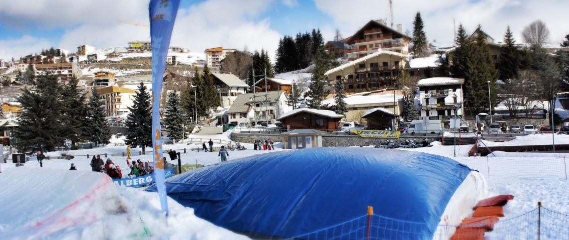 Big Air Bag sur les domaines skiables de France