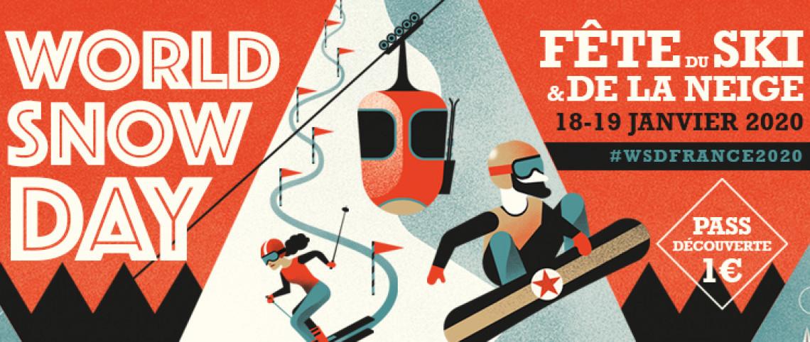 Tout le monde glisse pour la Fête du ski et de la neige les 18 et 19 janvier !