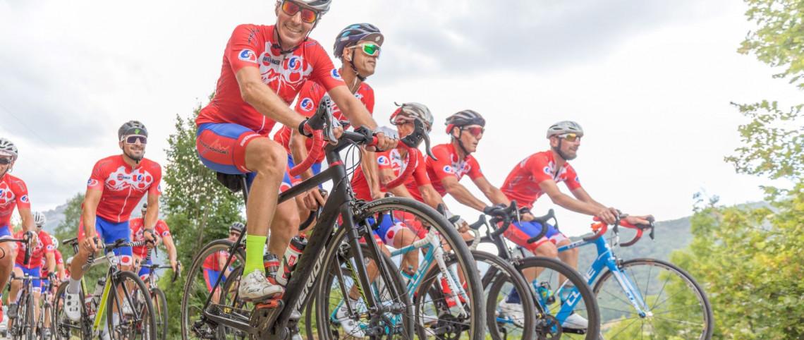 Le peloton France Montagnes à l'assaut du Critérium du Dauphiné
