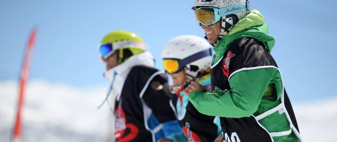 The J' D'enfer ski event, 1 day, 5 challenges