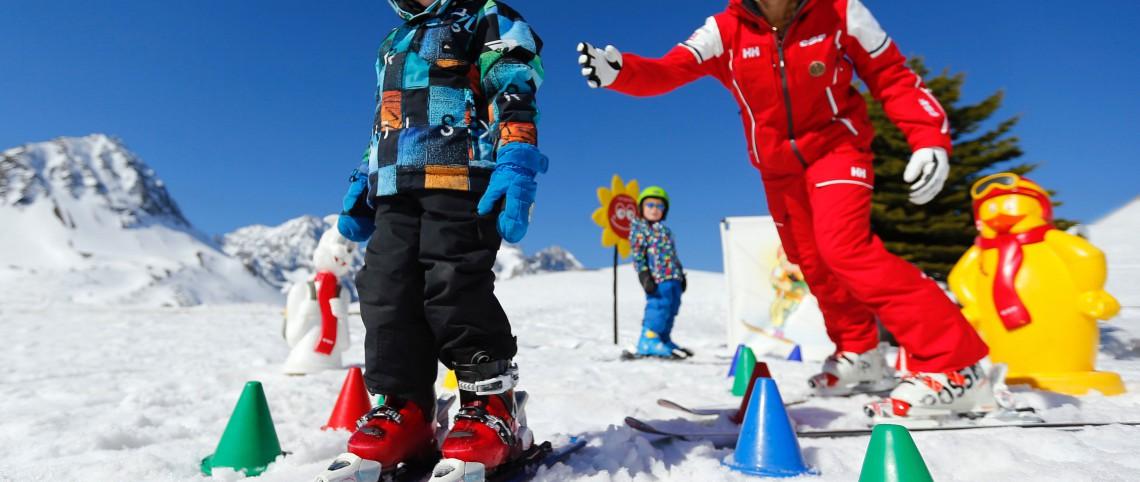 Choisir un cours de ski pour enfant