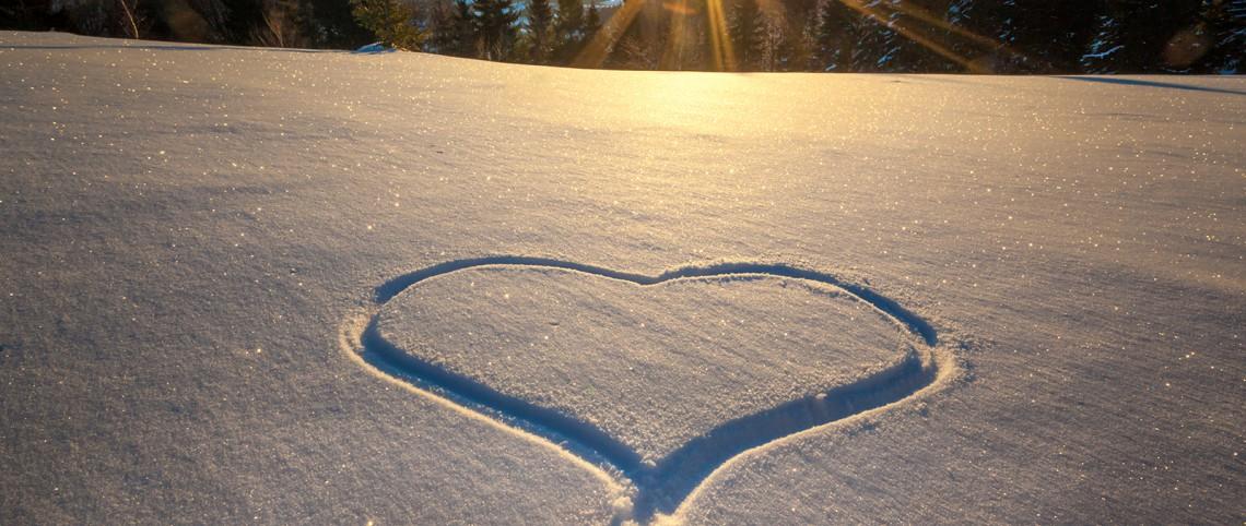 Saint-Valentin : tout un programme en montagne !
