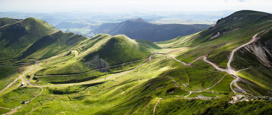 Paysages d'Auvergne : 6 points de vue nature et poésie