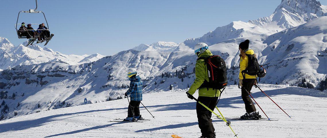 Ski area improvements