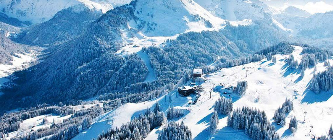 Focus sur 8 domaines skiables reliés