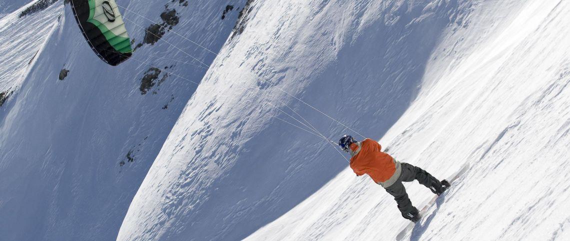 Snowkite : cocktail de glisse et de vol à découvrir !