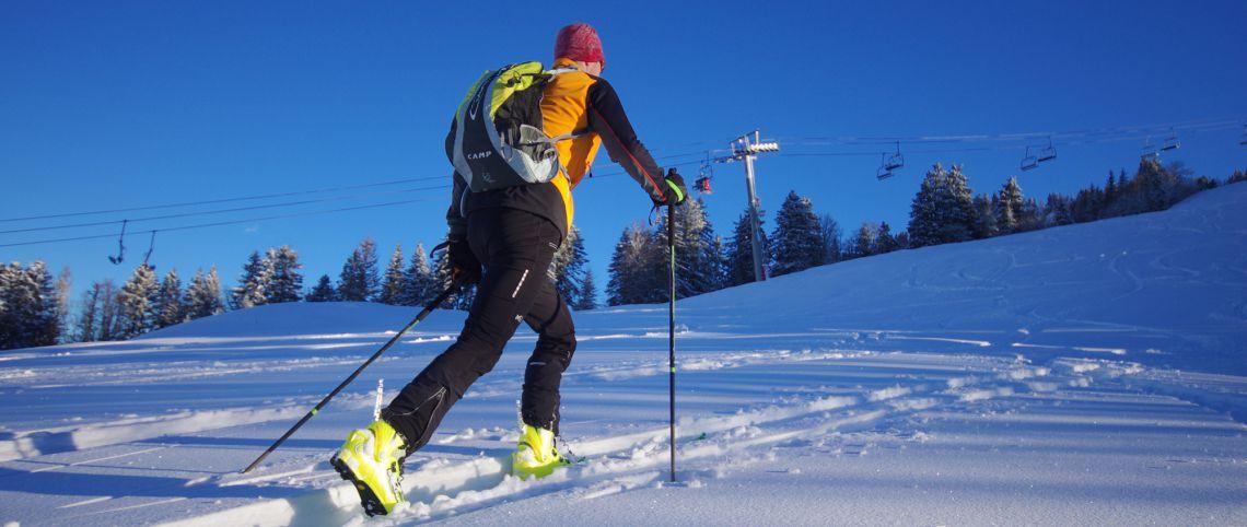 Le ski de randonnée se démocratise en stations