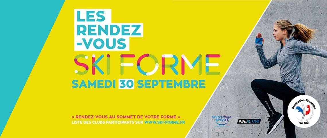 Rendez-Vous Ski Forme - 30 septembre 2017