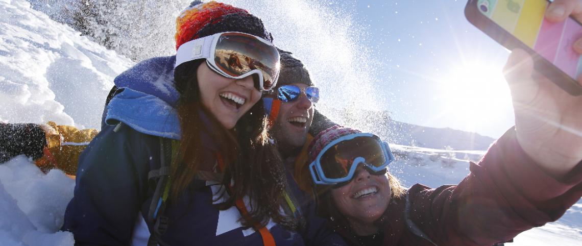 Cet hiver, skiez connecté !