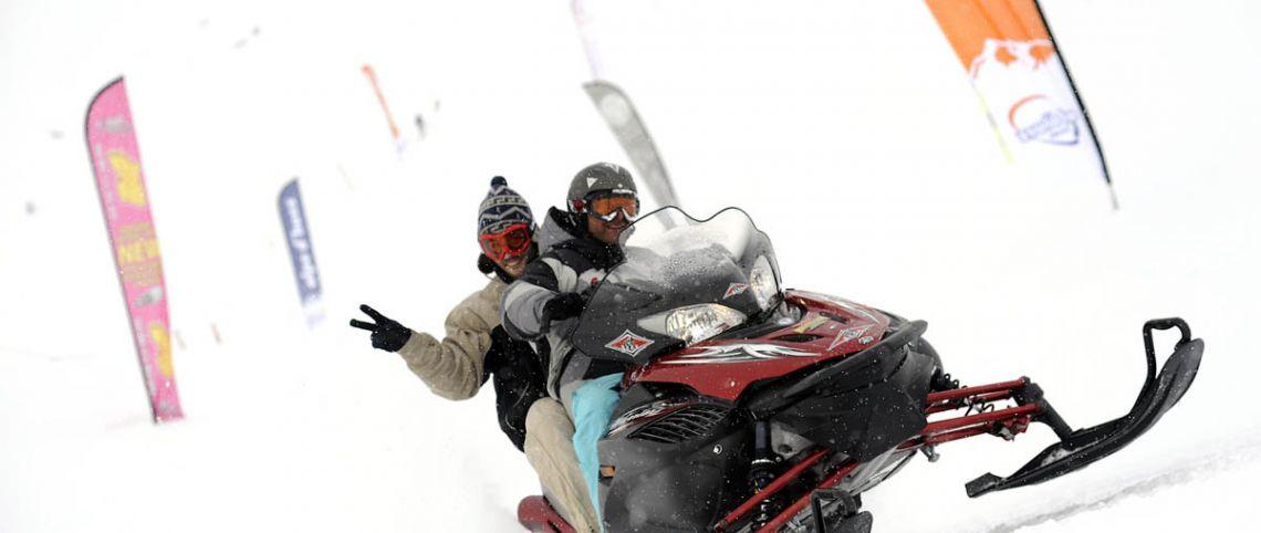 Cet hiver, on teste la motoneige !