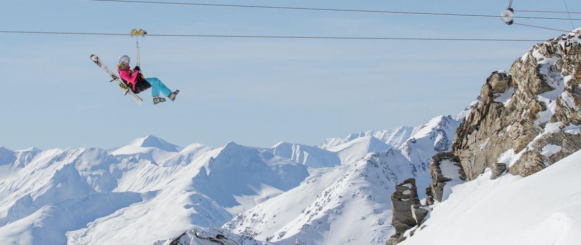 5 belles tyroliennes à tester cet ski !