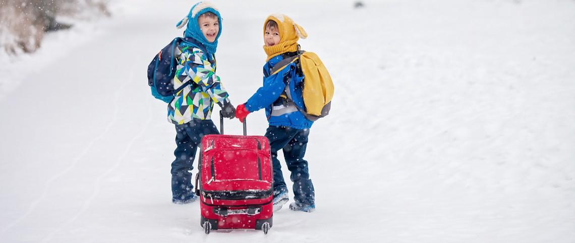 Vacances au ski, la valise idéale