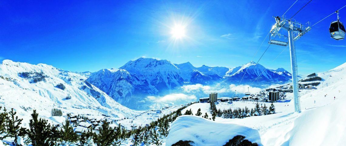 Dans quel massif français skier cet hiver ?