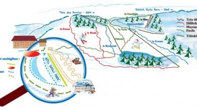 Plan des pistes