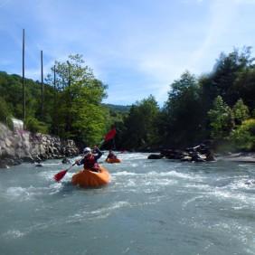 Kayak-raft avec Rêve d'Eau