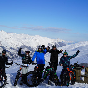 Roc'n Bike - FAT BIKE sur neige