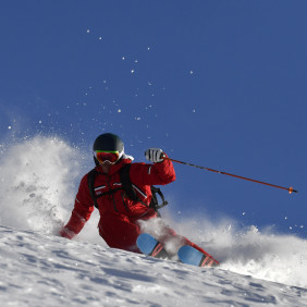 Ski alpin : stage freeride montagne