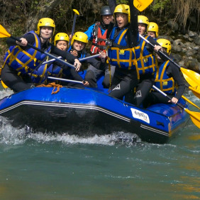 Rafting et hydrospeed