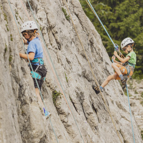 Escalade 8-12 ans : stage
